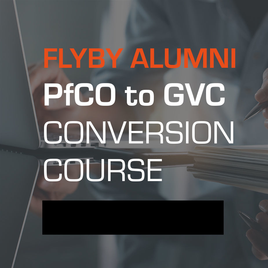 Flyby Alumni PfCO to GVC Conversion Course