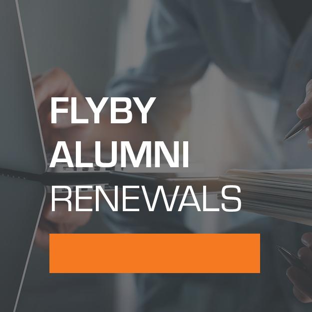 Flyby Alumni Renewals