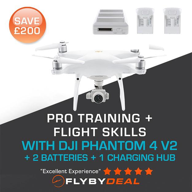 Picture of Phantom 4 Pro  V2 plus Training  plus Flight Skills Package